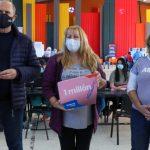 """Perotti: """"Hoy en Santa Fe vacunamos a la persona un millón contra el Covid19"""""""